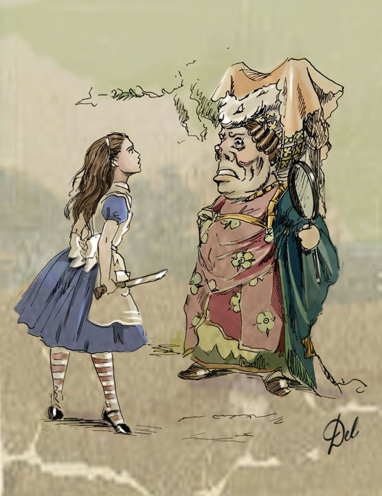 alice in wonderland essay analysis What a strange choice of carroll's to bring alice into wonderland the white  rabbit was what ultimately led alice to wonderland however, the.