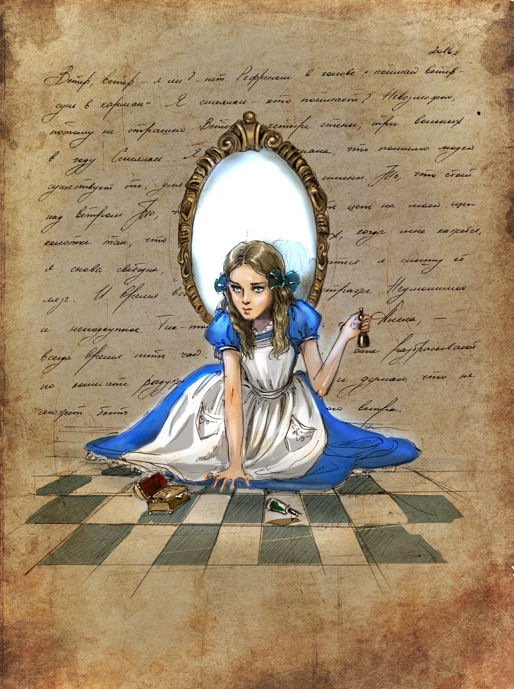 Un specchio by Ngaladel