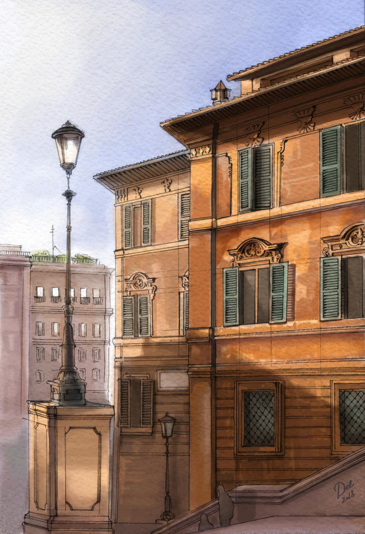 Piazza di Spagna by Ngaladel