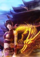 Dragon girl by Eggar919