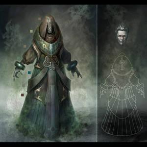 The dark priest