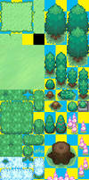 My BW Tileset - REQUESTS OPEN