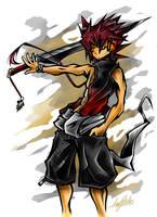 Warrior Boy by CaymArtworks
