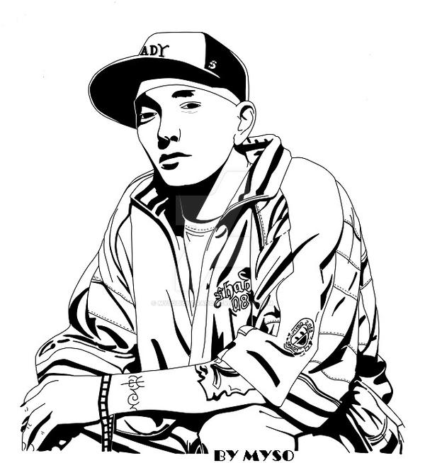 eminem coloring pages - photo#14