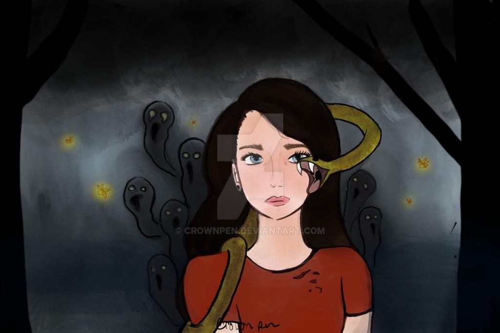 Spooky Snake by Crownpen