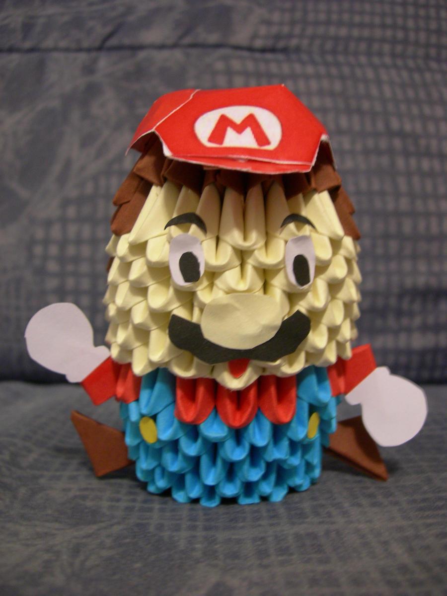 Mario 3D Origami Version 2