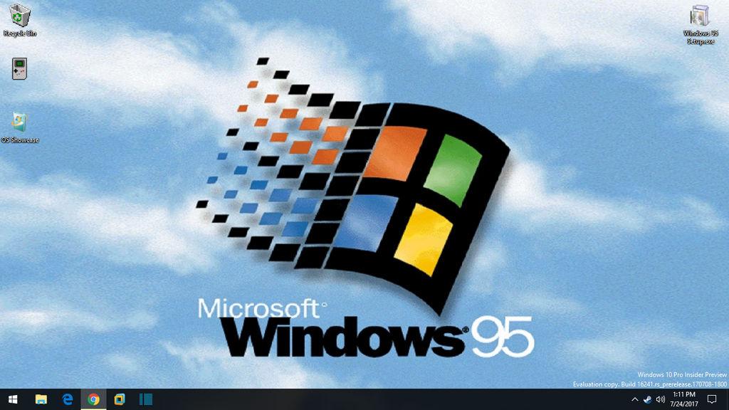 Windows 95 Theme Pack!