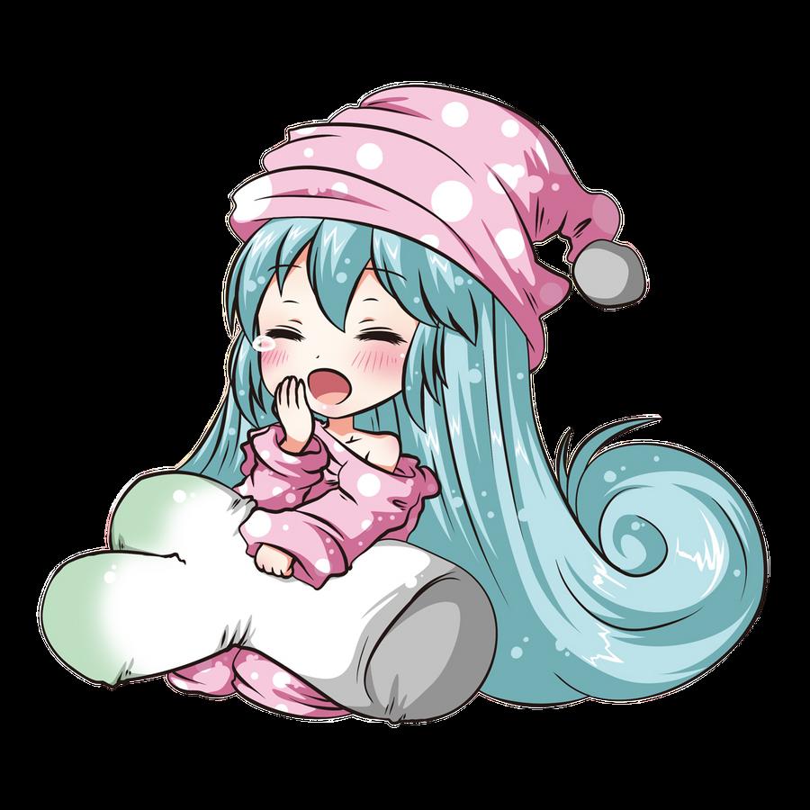 Miku chibi render by arriiety on deviantart - Cute anime miku ...