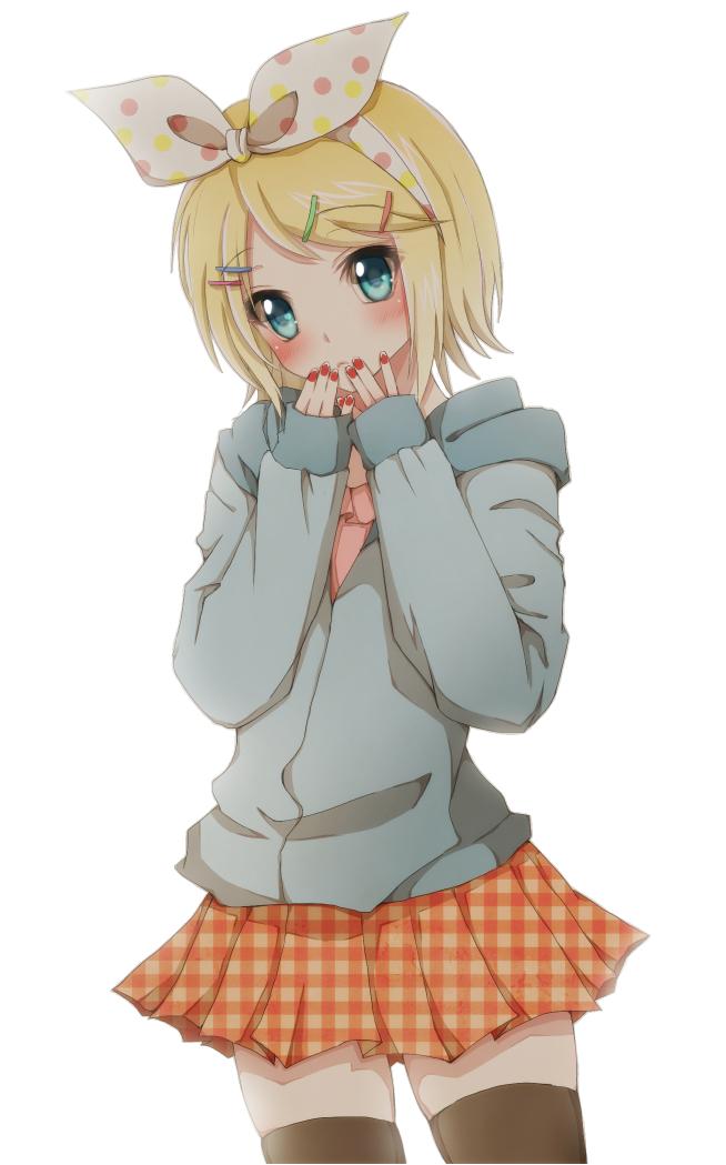 Quiero Mod's de Vocaloid,(tengo algunos  modelos  3D)  Rin_kagamine_render_by_arriiety-d58x26e