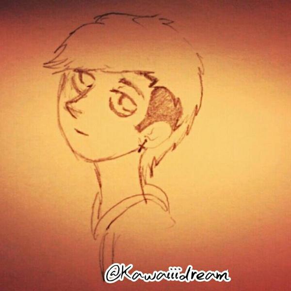moomin Self portrait  by Kawaiiidream