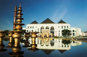 Great Mosque of Palembang by DonovanDennis