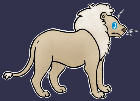 Lion by littletindog