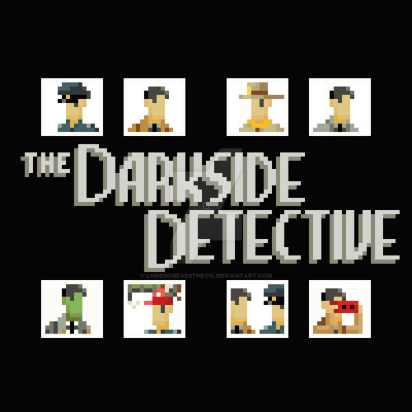 The Darkside Detective by lonesomeaesthetic
