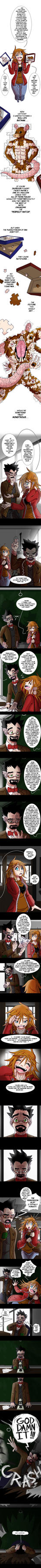 BIG BAD WOLF pg9 Making Monsters with Mr. Maera 2 by GraphicGinger