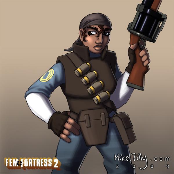 meet the fem fortress 2