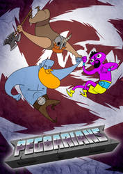 Pegbarians poster 03 by Pegbarians