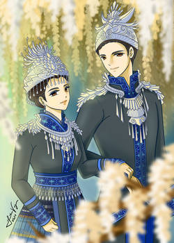 King and Queen 2019 (Hmong inspired)