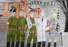 Auschwitz by R7artist
