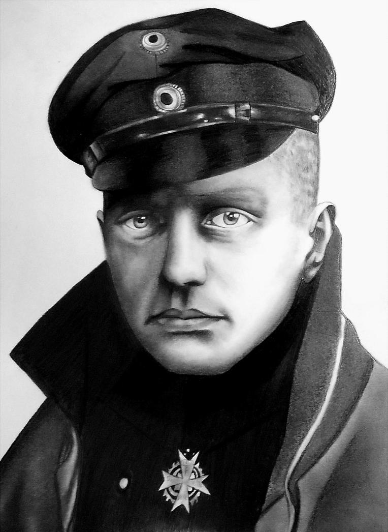 Manfred von Richthofen by R7artist