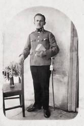 WW2 Hungarian Gendarme by R7artist