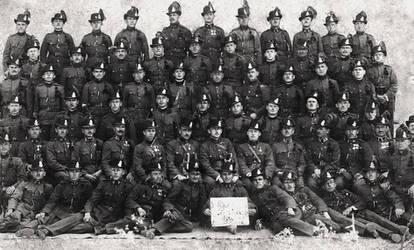 WW2 Hungarian Gendarmerie by R7artist