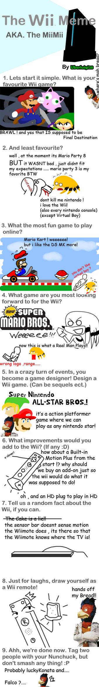 Wii Mii Mii a meme by me by rangeTE