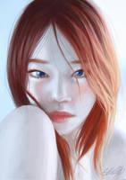 Red hair by GoingMundane