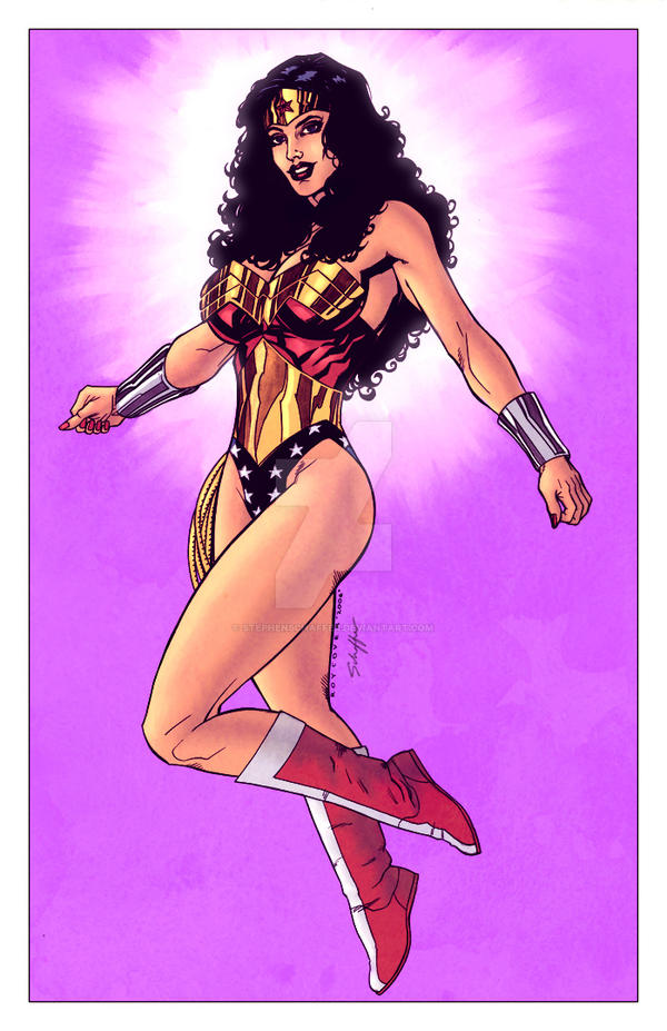 Wonder Woman by Justice41 by StephenSchaffer