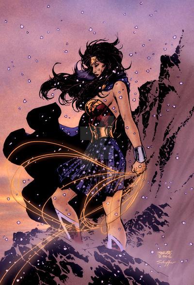 Wonder Woman by Jim Lee
