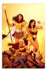 Wonder Women by Thegerjoos