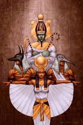 Egyptian Family Portrait by StephenSchaffer