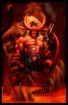 Hellboy by Justice41