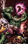 Hulk vs. X-Men by EDEX
