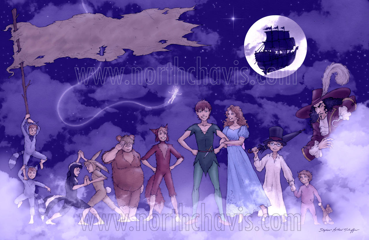 Peter Pan - Commission by StephenSchaffer - 223.4KB
