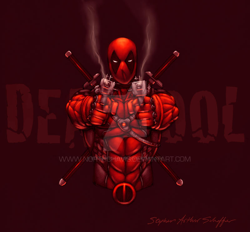 Deadpool Commission By Stephenschaffer On Deviantart