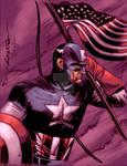 Capt America by MBreitweiser