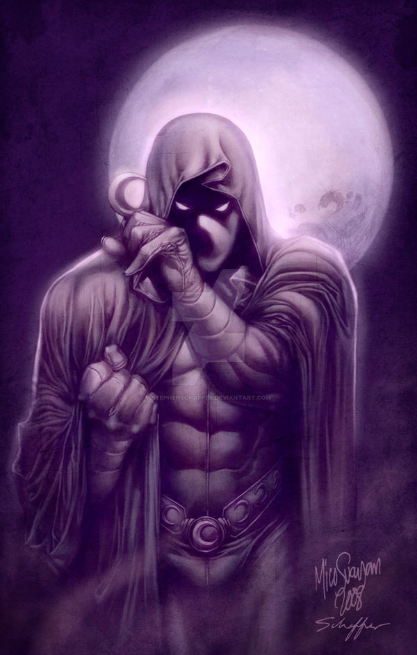 Moon Knight II by MCornelius by StephenSchaffer