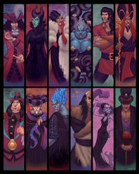The Villainous World of Disney by StephenSchaffer