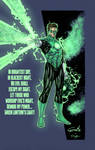 Green Lantern by SpiderGuile