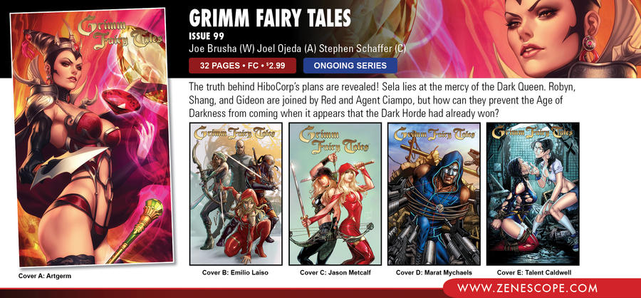 Grimm Fairy Tales 99 - Solicit by StephenSchaffer
