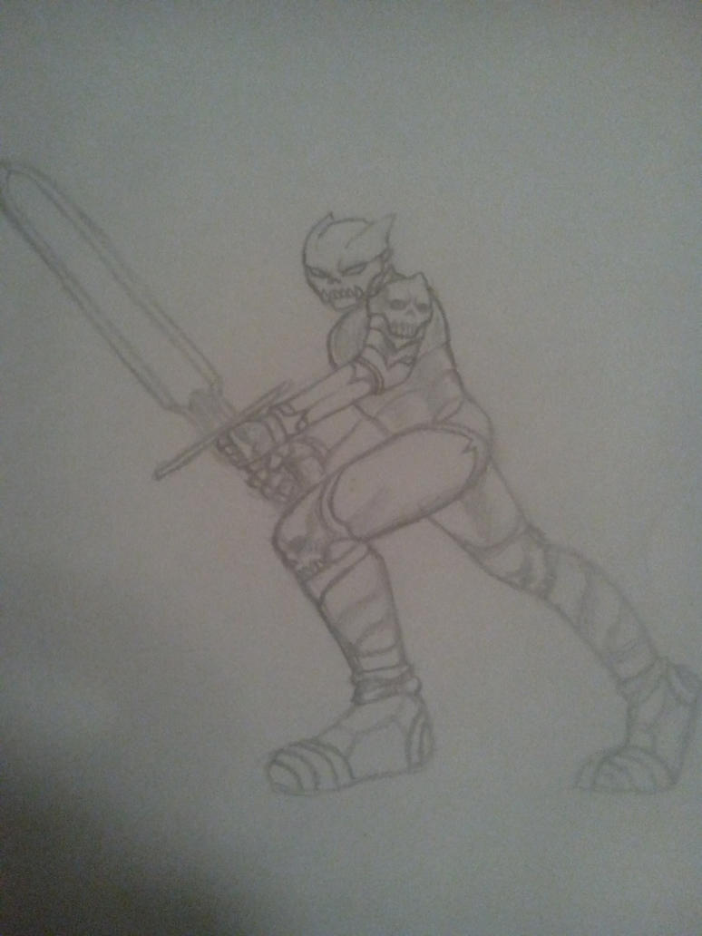 Skull Knight by DeadsG1