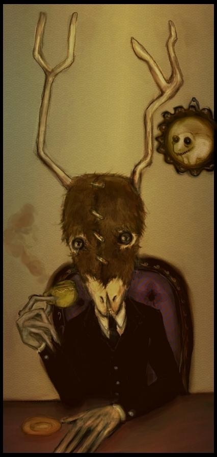 Mr. Taxidermy by Madalinka