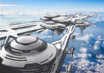 Richard C. Hoagland Skyport 2163 by JamesF63