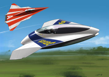 Close Race by JamesF63