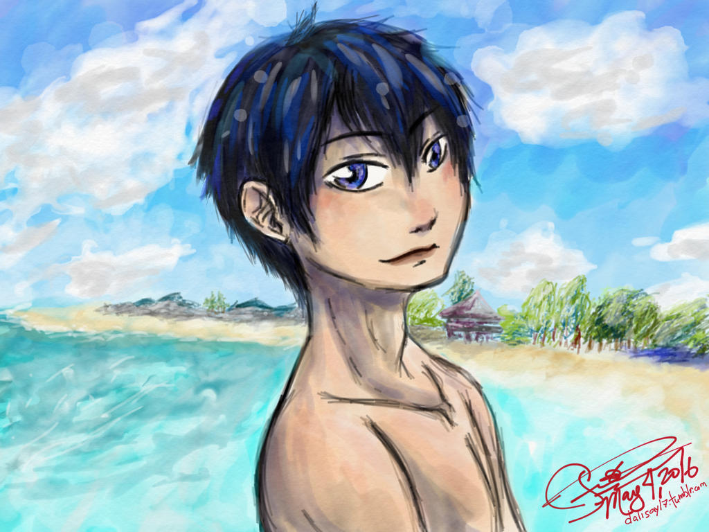 Beach Feels - Kageyama ver. by Dalisay-17