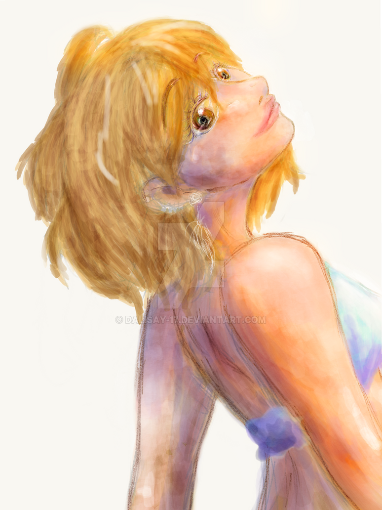 Beach Feels ver. Yachi (WIP) by Dalisay-17