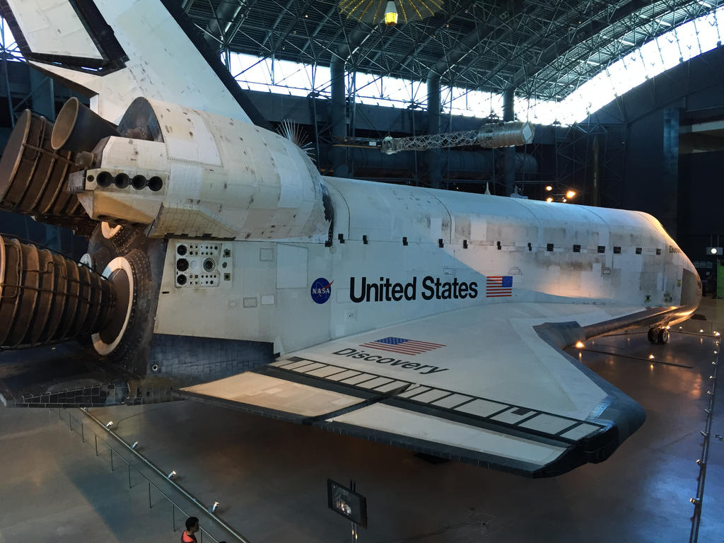 Space Shuttle Discovery by DustyCrophopper86 on DeviantArt