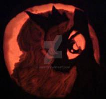 Princess Luna Moon Pumpkin