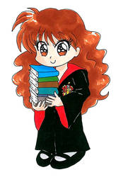 Hermione Granger by pinguino777