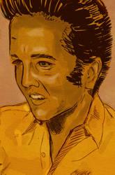 Sketch Elvis by scottgregory711